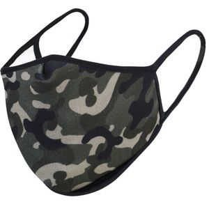 IN STOCK! Camouflage Print Nose Mouth Cover Mask